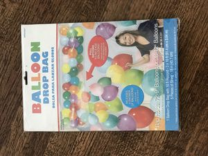 Balloon Drop Bag from party city for Sale in Hawthorne, CA