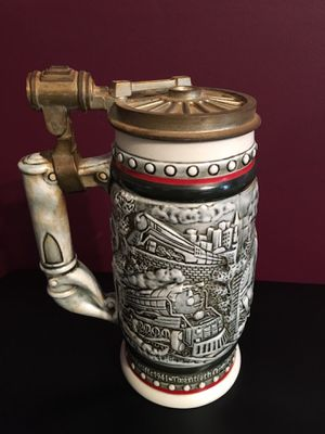 Vintage Beer Stein 1L handcrafted in Brazil for Sale in Alexandria, VA