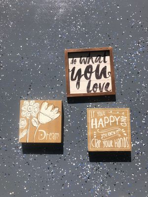 DREAM. Do what you love. IF YOURE HAPPY AND YOU KNOW IT CLAP YOUR HANDS PICTURES for Sale in Phoenix, AZ