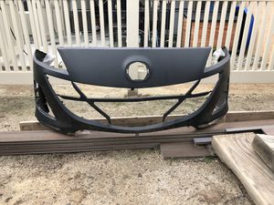 BRAND NEW. Mazda 3 front bumper plastic. One piece. for Sale in Corona, CA