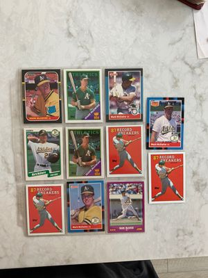 Mark McGwire baseball cards for Sale in Laguna Niguel, CA