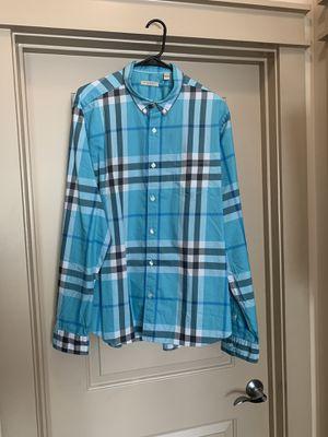 Burberry Brit Check Pattern Shirt Size XXL for Sale in Atlanta, GA