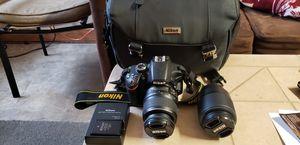 Nikon D3200 digital camera for Sale in Jacksonville, FL