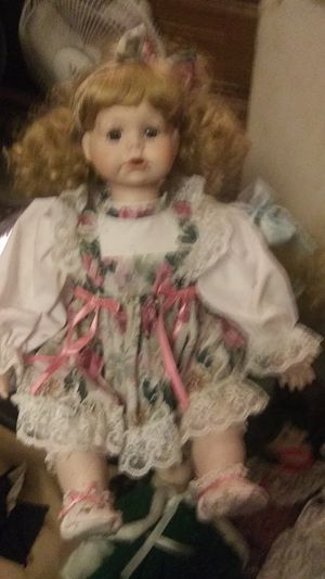 Porcelain girl with flower dress for Sale in Maple Valley, WA