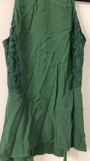 Michael Kors, size small gorgeous green color with lace on the side for Sale in Kirkwood, MO