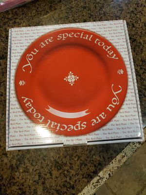 The Original Red Plate for Sale in Atwater, CA