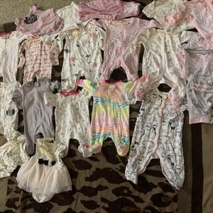 Baby Clothes 0-6m With Shoes & Blankets for Sale in Phoenix, AZ