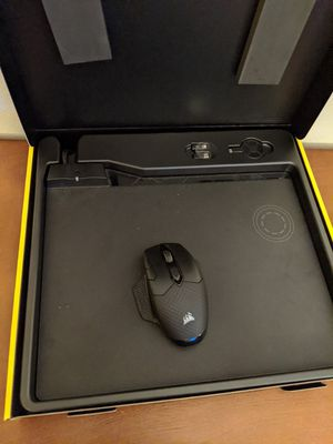 Corsair wireless mouse and charging mousepad for Sale in St. Louis, MO