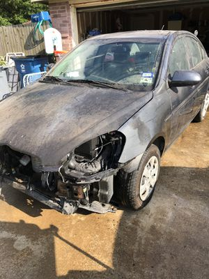 Wrecked 2009 Hyundai Accent for parts for Sale in Rockwall, TX
