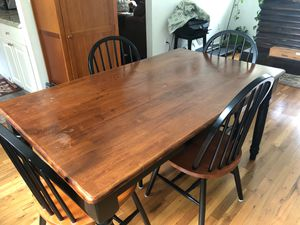 Kitchen Table and 4 Chairs for Sale in Berkeley Township, NJ