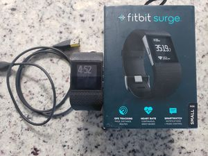 FitBit Surge Black & Two Extra Bands for Sale in Tampa, FL