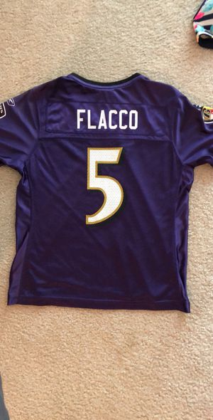 Ravens Womens Joe Flacco Jersey Medium for Sale in Pasadena, MD
