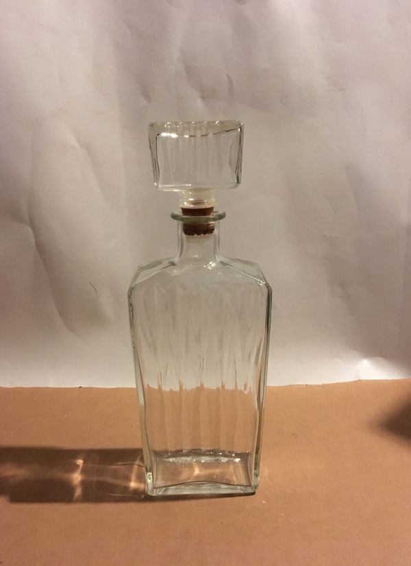Vintage Whiskey Scotch Decanter