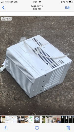 Window air-conditioning unit only used for a couple months works good for Sale in Eagle Creek, OR
