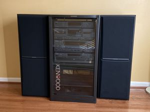 Kenwood stereo system (Excellent Condition) for Sale in Lorton, VA