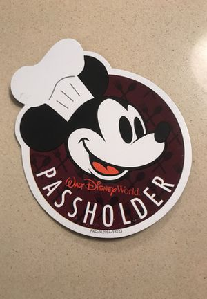 Food and Wine festival (Disney world)pass holder Disney magnet for Sale in Irvine, CA
