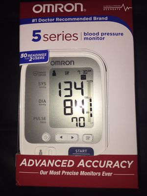 Omron 5 series Blood Pressure Monitor for Sale in Alexandria, VA