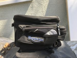 Triumph motorcycle bag for Sale in Los Angeles, CA