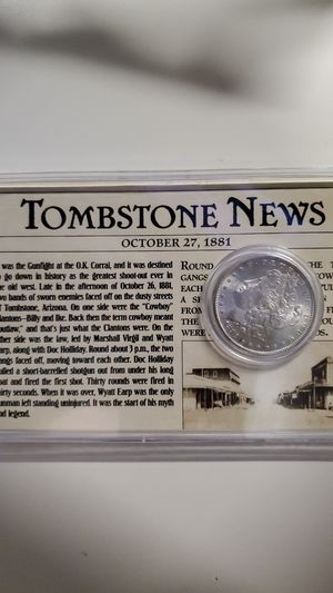 1881-S Tombstone Morgan Silver Dollar for Sale in Potter, KS