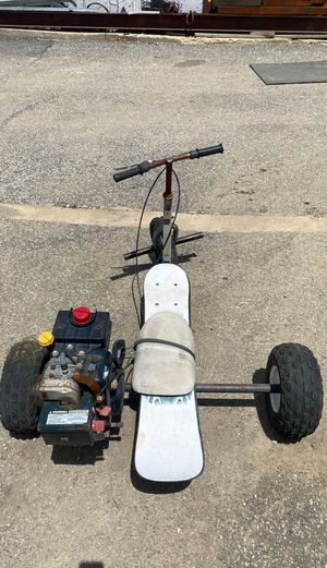 Homemade trike with 5hp motor needs carb clean for Sale in Woodlyn, PA