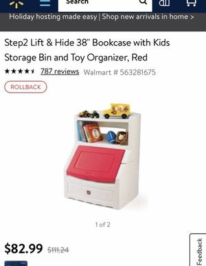 Step2 Storage Bin Organizer with kid safety lid anti tipping and easy wipe clean Surface . toddler safe for Sale in Henderson, NV