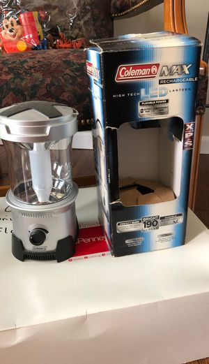 Camping equip. Coleman light for Sale in Columbia, PA