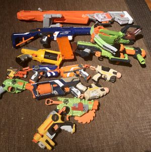 Nerf guns - assorted selection $2-$10 each for Sale in Santa Rosa, CA