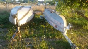 14 ft aluminum boats for Sale in Dayton, OR