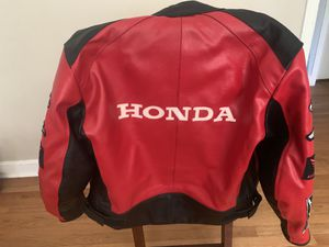 Lg Honda motorcycle jacket will take best offer for Sale in Atlanta, GA
