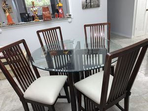 Dinging set + the coffee table for Sale in Plantation, FL