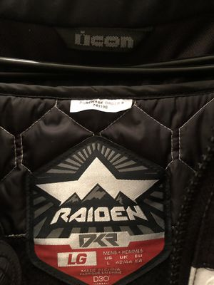 Icon Raiden DKR Motorcycle Jacket for Sale in Tigard, OR