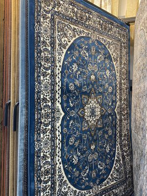 5x8 sapphire blue classic Persian design carpet brand new floral rug for Sale in Los Angeles, CA