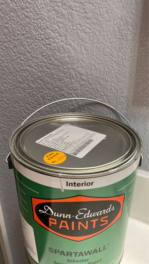 One full gallon of paint for Sale in Perris, CA