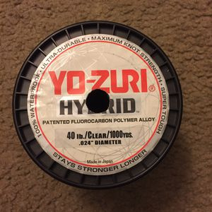 Fishing fluorocarbon line for Sale in Buena Park, CA