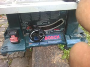 Bosh table saw for Sale in Royal Oaks, CA