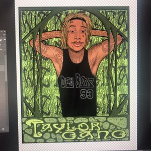 Wiz Khalifa poster for Sale in Pittsburgh, PA