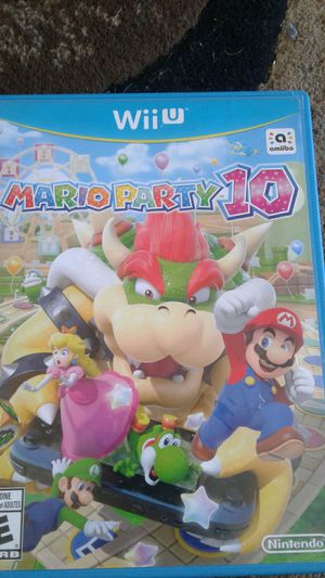 Mario Party 10 Wii U for Sale in Antioch, CA