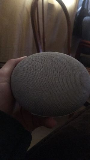 Ok google mini speaker for Sale in Bellefontaine, OH
