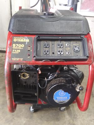 Industrial generator mz300 yamaha 5700wtts for Sale in Fort Washington, MD