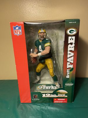 NIB Brett Favre #4 Green Bay Packers NFL 12 Inch Mcfarlane Toys Figure Figurine for Sale in Tamarac, FL