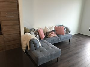PRICED REDUCED - Modern Sofa with Chaise for Sale in West McLean, VA