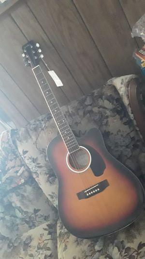 Sunburst Full Size Cutaway Thinline Acoustic/ELECTRIC Guitar for Sale in Spokane, WA