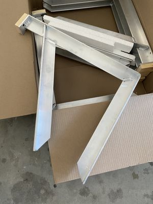 Aluminum countertop support brackets...12total..!!make offer!! for Sale in Clovis, CA