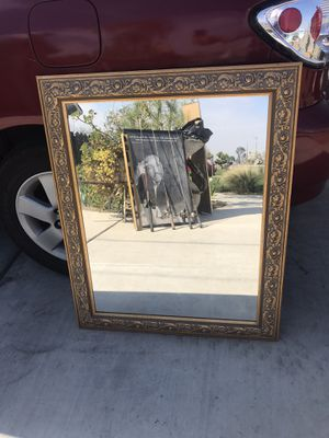 Antique Glass Mirror for Sale in Fowler, CA