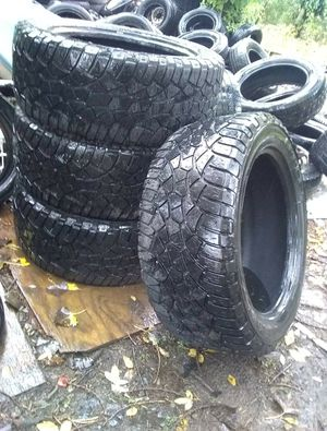 Gently used fully inspected car truck motorcycle and trailer tires sets and singles for Sale in Inver Grove Heights, MN