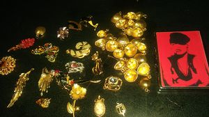 Pendants and charms for necklaces and a cigarette case for Sale in South Gate, CA