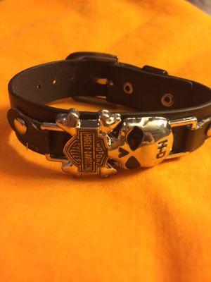 Harley Davidson leather bracelet for Sale in Jacksonville, FL