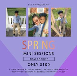 Photography Session for Sale in Glen Burnie, MD