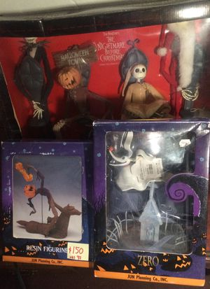Nightmare before Christmas Jack collection doll millennium package for Sale in Leavenworth, KS