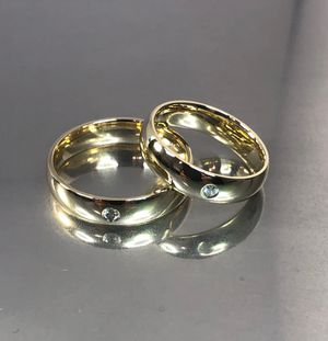 14 karat yellow gold diamond wedding band(s) for Sale in Los Angeles, CA
